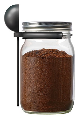 Jarware Coffee Spoon Clip for Wide Mouth Mason Jars, 6