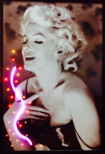Marilyn Monroe - Luce al neon a LED, effetto like USA!