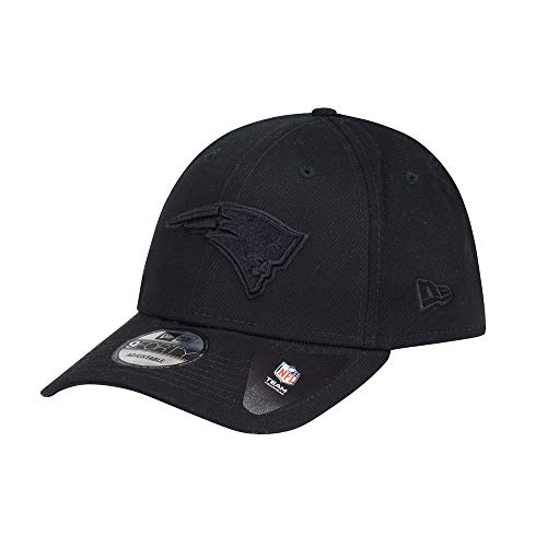 New Era 9Forty Snapback Cap New England Patriots Schwarz Schwarz, Size:ONE Size
