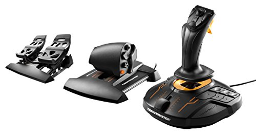 Thrustmaster T16000M FCS Flight Pack (Sistema Hotas incl. Pedali, T.A.R.G.E.T Software, PC)