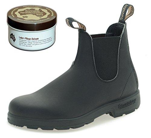 Blundstone Style 510 Classic Comfort Chelsea Boots Unisex Stiefelette + Lederpflege   Black   UK 5.5 / EU 38.5