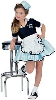 50s Favorite Girls Car Hop Costume, Medium