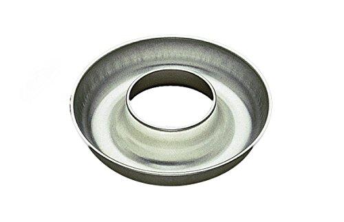Gobel 124040 Moule à Savarin embouti cylindre débouché Fer Blanc Ø 22 cm
