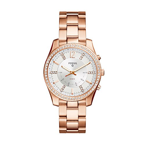 Fossil Hybrid Smartwatch - Q Scarlette Rose Gold-Tone Stainless Steel FTW5016