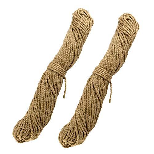 Lantelme Sisal Rankhilfe Seil für Kletterpflanzen im Garten für Tomaten Gemüse Pflanzen Rankseil 50 Meter Wetterfest 5683