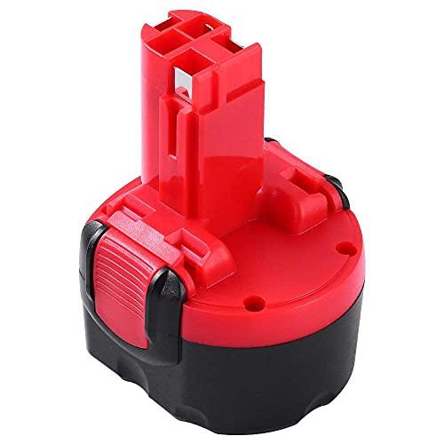 Powayup 9.6V 3.5Ah Ni-MH Reemplazo para Bosch BAT048 Batería BAT100 BAT119 2607335272 2607335461 GSR 9.6VE-2 PSR 9.6VE-2 PSR960 23609 32609-RT