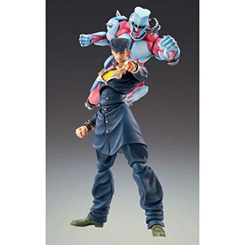 YP PY Jojos Extraño Aventura Acción Figura Josuke Higashikata Super Action Estatua Estatua
