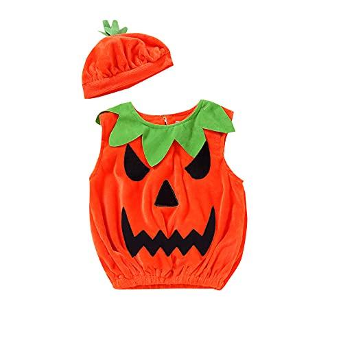 Sanshao Halloween Kürbis Kostüm , Halloween Kostüm, Kürbis Faschingskostüme, Kürbis Karnevalskostüm, für Kinder, Jungen, Mädchen, für Fasching Karneval Fasnacht, auch als Geschenk zum Geburtstag