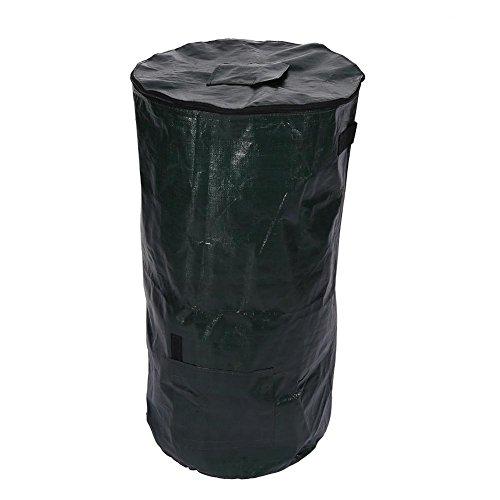 Best Prices! Folding Garden Waste Bag, Strong Large Garden Waste Weeds Leaves Bin Refuse Sack Bag Ru...