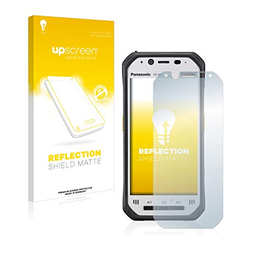 upscreen Entspiegelungs-Schutzfolie kompatibel mit Panasonic Toughpad FZ-N1 – Anti-Reflex Bildschirmschutz-Folie Matt