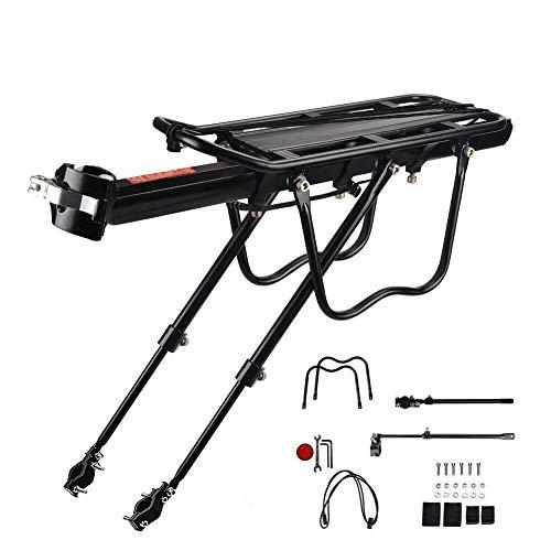 Buy Bargain GBZZ Bike Rack – Adjustable Carrier Bike Rack Maximum Load 100kg Aluminum Alloy Quick Installation