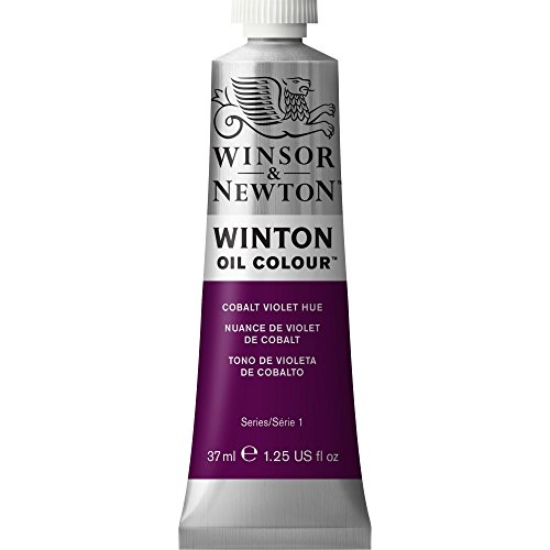 Winsor & Newton Winton - Tubo óleo, 37 ml, tono violeta cobalto