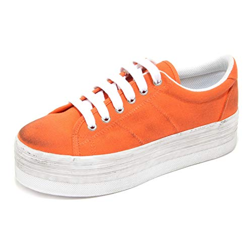 Jeffrey Campbell 1101M Sneakers Donna ZOMG Washed Canvas Scarpe Shoes Women [41 EU-8 UK]