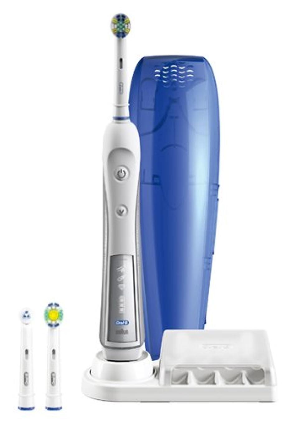ハウジングなだめるプリーツブラウン オーラルB 電動歯ブラシ デンタプライド4000 D295354X