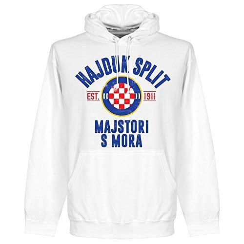 Retake Hajduk Split Established Kapuzenpullover - weiß - XL