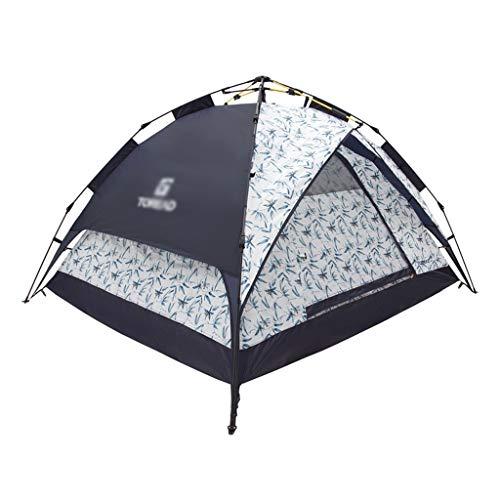 Utilisation multiple Sports de plein air Tente Camping Épaississement Sunscreen pluie à l'extérieur automatique Vitesse ouverte Tente pliante coupe-vent respirant Équipement d'extérieur ( Color : B )