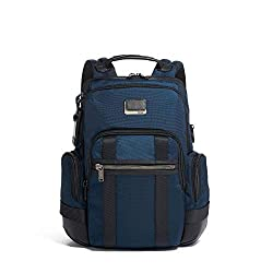 in budget affordable TUMI Alpha Bravo Nathan Laptop Backpack – 15 inch Computer Bag for Men and Women – Dark Blue