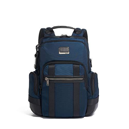 TUMI - Mochila para portátil Alpha Bravo Nathan - 15 pulgadas para hombre y mujer, color azul marino