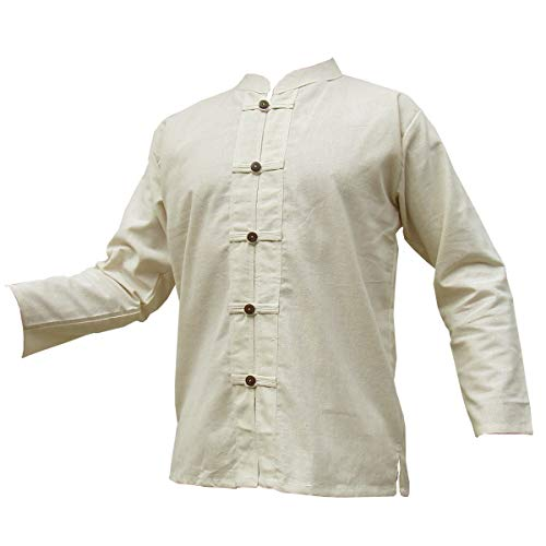 PANASIAM Nature Cotton Shirt, 5button, LS, L