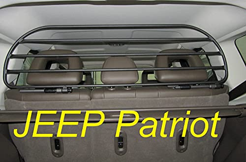 Dog Guard, Pet Barrier Net and Screen RDA65HBG-L for Jeep Patriot with Removable headrests, for Luggage and Pets