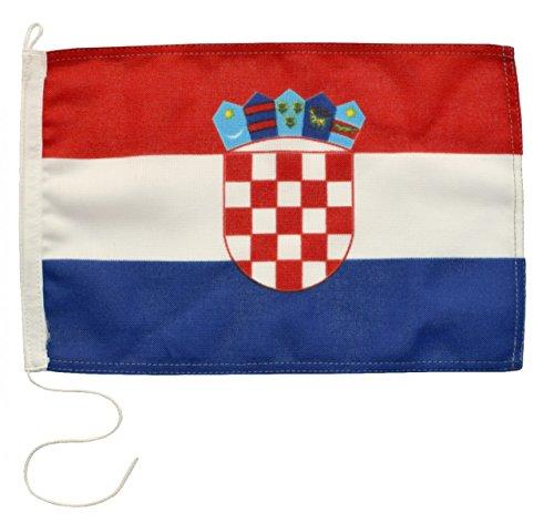 Navyline Gastlandflagge Kroatien in Zwei Größen, Größe:30 x 45 cm