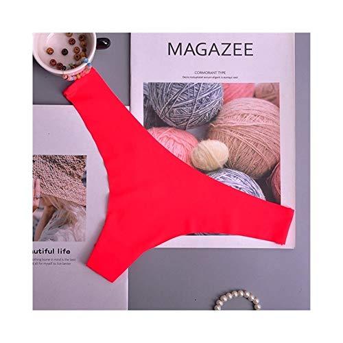 Linyuex Frauen G String Bequeme Unterwäsche-Spitze Slips Höschen Transparent Super dünne Hohl Thongs Plus-Siz 1pcs / Lot (Color : 9, Size : X-Large)