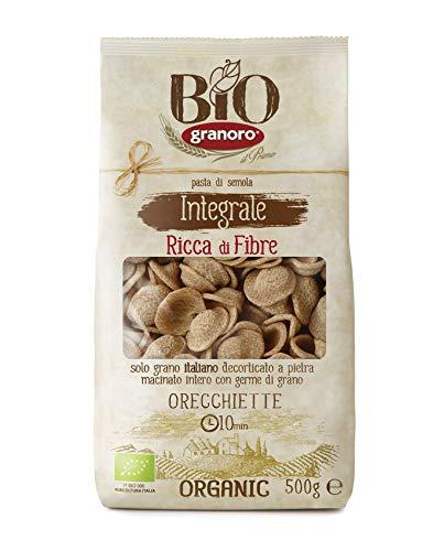 Granoro Bio Integrale Orecchiette - 10 Confezioni da 500 Gr, Senza glutine