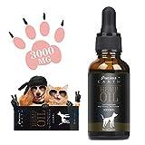 PRECIOUS EARTH natürliches Öl für Hunde und Katzen 30%, Organisches öl für Haustiere, reich an Vitamin E, B & Omega 3, 6 & 9