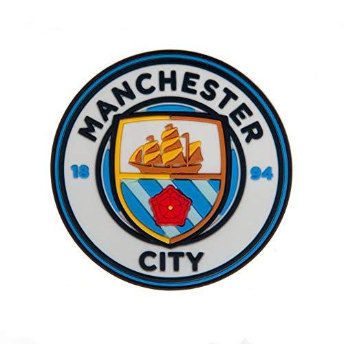 Manchester City FC - Calamita 3D da frigo (Taglia unica) (Azzurro cielo)