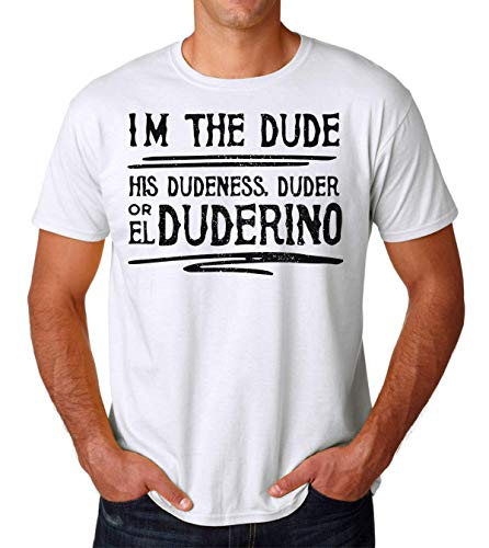 I'm The Dude, His Dudeness Duder The Big Lebowski Men's T-Shirt Herren Tshirt Large