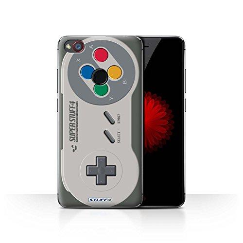 Hülle Für ZTE Nubia Z11 Mini Spielkonsolen Super Nintendo Design Transparent Ultra Dünn Klar Hart Schutz Handyhülle Case