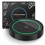 Dimux Coffee Mug Warmer with Automatic Gravity Switch. Electric Beverage Warmers for Office Home Desk Use, Smart Cup Warmer Thermostat Coaster Apply to Hot Coffee, Tea Espresso Milk, Candle, Wax (On/Off 135F)