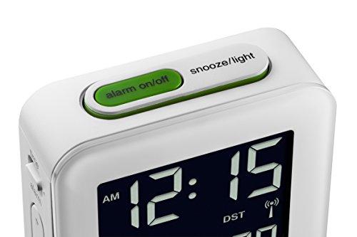 Braun BNC008WH-RC LCD Quartz Alarm Clock