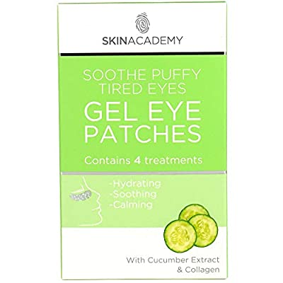 Pretty Soothe Eye Gel Puffy Tired Eye Patches, Pack of 4