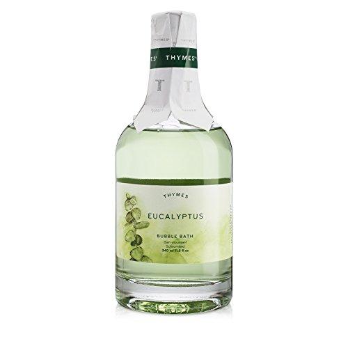 Thymes - Eucalyptus Bubble Bath - Relaxing Foam and Natural Eucalyptus Oil for Sensitive Skin - 11.5 oz