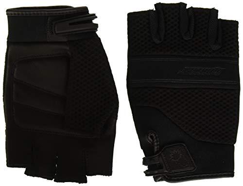 Joe Rocket 1340-1003 Vento Men's Fingerless Motorcycle Riding Gloves (Black, Medium)