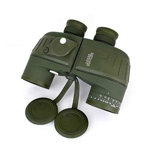 10X50 militaire verrekijkers waterdicht schokbestendig optische condensor lens, met een kompas, een camping trip Hunting
