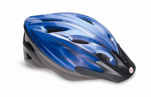 Bell Radar Bike Helmet (Blue Caged, Small/Medium)
