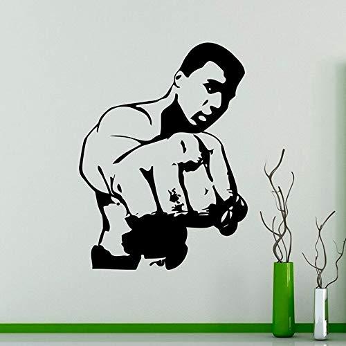 wZUN Größte Vinyl Aufkleber Sport Home Dekoration kreative Wandkunst 57X77cm