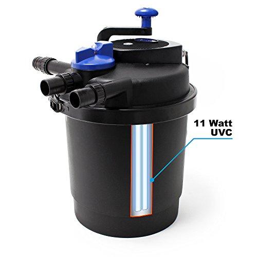 SunSun CPF-5000 Druckteichfilter UVC 11 W 9000 L/h Teich Filter Teichfilter - 3