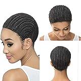 WOME Black Braid Cap Crochet Braids Cap for Easier Sew In,1pcs/Lot Braiding Wigs Cap