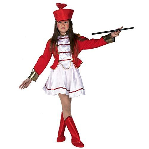 El Rey del Carnaval Disfraz de Majorete Infantil - Niña, de 4 a 6 años