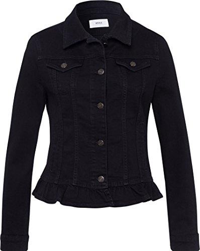 BRAX Damen Style Miami Jacke, Black, 42