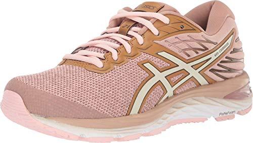 ASICS Women's Gel-Cumulus 21 Running Shoes, 8.5M, Dusty Steppe/Birch