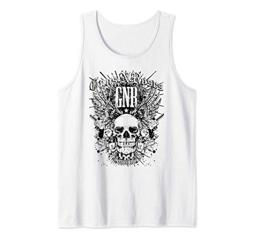 Guns N' Roses Destruction White Tank Top, Men, Women, S to 2XL
