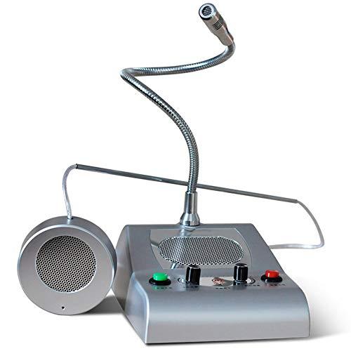 Zwei-Wege-Intercom-System Vollautomatische Gegensprechanlage Automatische Stummschaltung Dual-Way-Zähler Interphone Vermeiden Sie Heulen Und Störungen Dual-Way-Interphone-System Mit Aufnahmebuchse