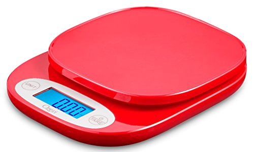 Ozeri ZK24 Garden and Kitchen Scale, with 0.5 g (0.01 oz) Precision Weighing Technology