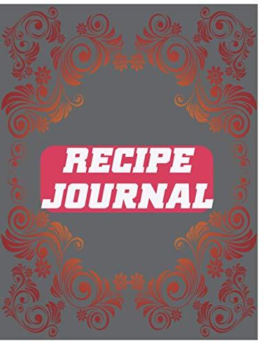 Recipe Journal: Break Planned By This Appropriate Blood Delightful Journal Book!