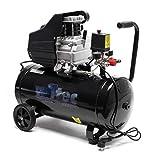 Druckluftkompressor mit 50L Kessel, 1100W 1,5PS 110l/min Werkstattkompressor