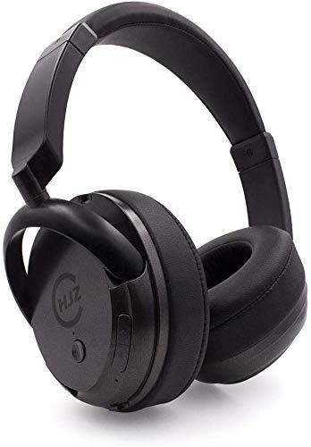 FHW Draadloze bluetooth headset, hoofd-gemonteerd spelcomputer telefoon hifi kan subwoofer koptelefoon, bas stereo elektrische oor-oor soort masker te beantwoorden (zwart) koptelefoon